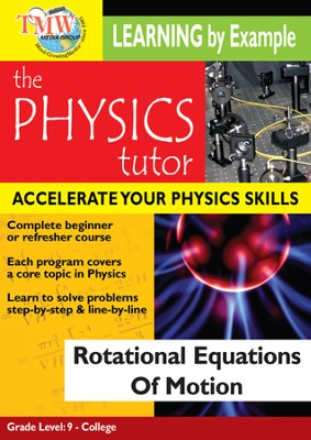 Physics Tutor: Rotational Equations Of Motion DVD  -
