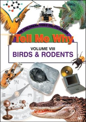 Tell Me Why: Birds & Rodents DVD  -