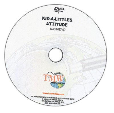 Kid-a-Littles: A Good Attitude DVD  -