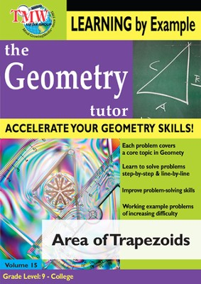 Area of Trapezoids DVD  -