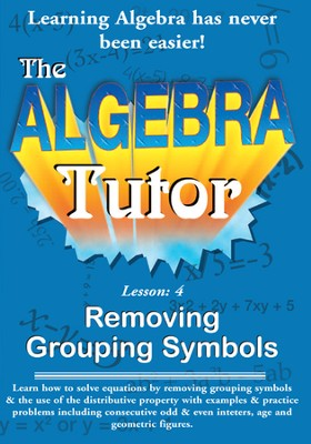 Algebra Math Tutor: Grouping DVD  -