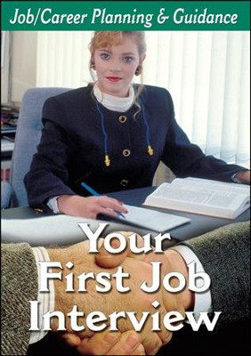 Career Planning Series: Your First Job Interview DVD  -