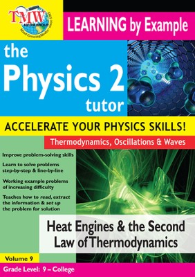 Heat Engines and the Second Law of Thermodynamics DVD  -