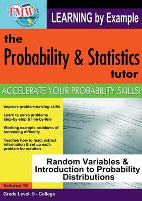 Random Variables & Introduction to Probability Distributions DVD  -