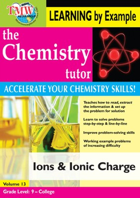 Ions and Ionic Charge DVD  -