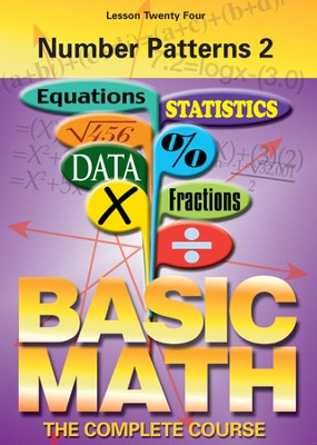 Basic Math Series: Number Patterns 2 DVD  -