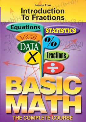 Basic Math Series: Introduction To Fractions DVD  -