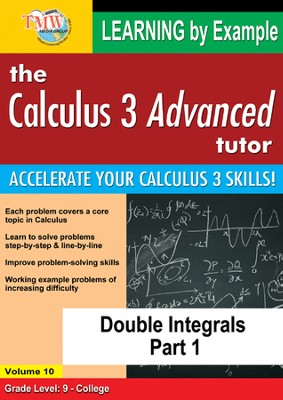 Double Integrals Part 1 DVD  -