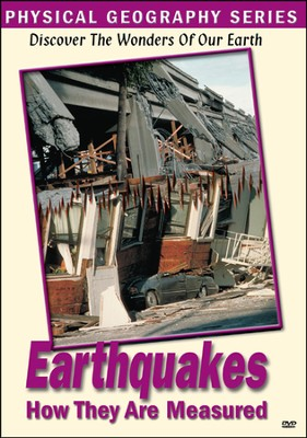 Physical Geography: Earthquakes & How They Are Measured DVD  -