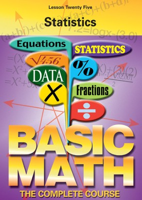 Basic Math Series: Statistics DVD  -