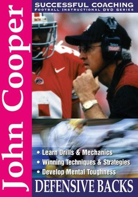 John Cooper: Defensive Backs DVD  -