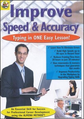 Improve Typing Speed & Accuracy DVD  -