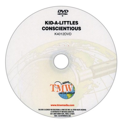 Kid-a-Littles: Being Conscientious DVD  -