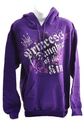 Princess, Daughter of the King, Hooded Sweatshort, Small (36-38)  -