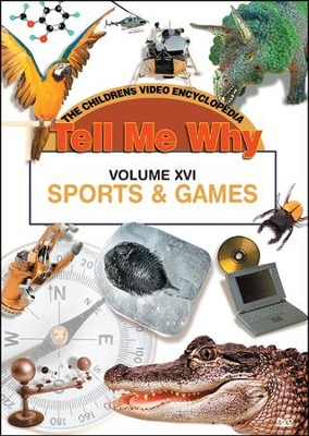 Tell Me Why: Sports & Games DVD  -