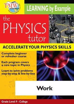 Physics Tutor: Work DVD  -