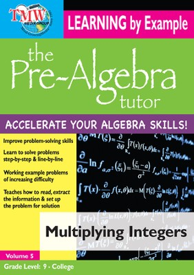 Multiplying Integers DVD  -