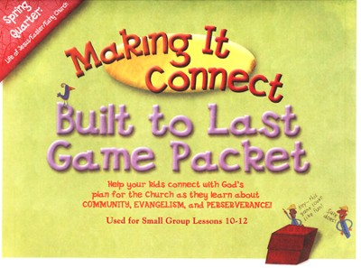 Making It Connect, Spring: Built to Last Game Pack, Grade 2/3  -     By: Willow Creek