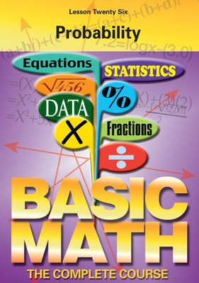 Basic Math Series: Probability DVD  -
