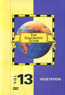 Geography Tutor: Vegetation DVD  -