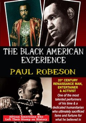 Paul Robeson: 20th Century Renaissance Man, Entertainer & Activist DVD  -