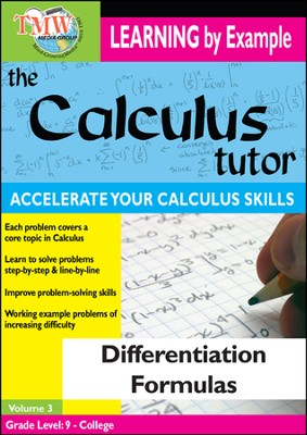 Calculus Tutor: Differentiation Formulas DVD  -