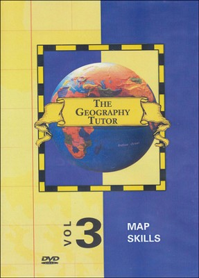 Geography Tutor: Map Skills DVD  -