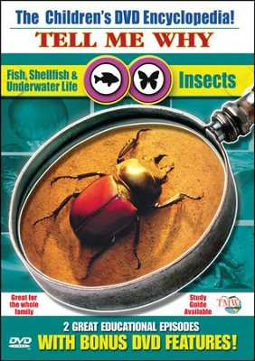 Tell Me Why: Insects & Fish, Shellfish, Underwater Life DVD  -