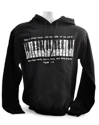 Make A Joyful Noise, Hooded Sweatshirt, Large (42-44)  -