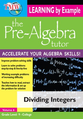 Dividing Integers DVD  -