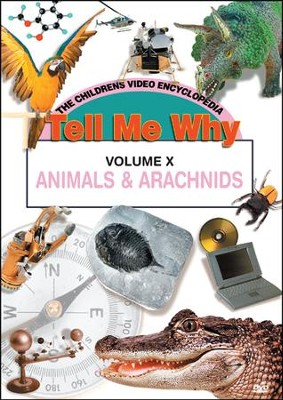 Tell Me Why: Animals & Arachnids DVD  -