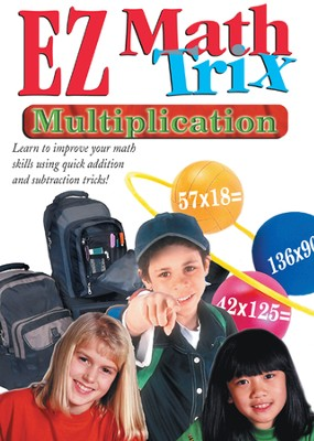 EZ Math Trix: Multiplication DVD  -