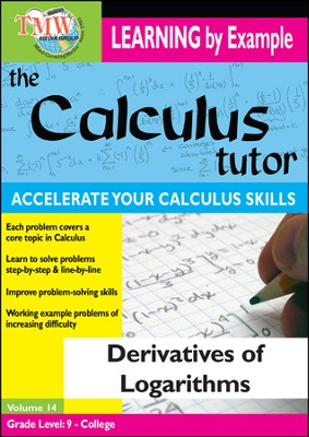 Calculus Tutor: Derivatives Of Logarithms DVD  -
