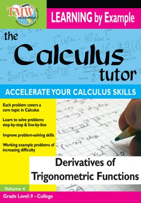 Calculus Tutor: Derivatives Of Trigonometric Functions DVD  -