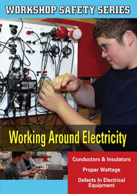 Workshop Safety: Working Around Electricity DVD  -