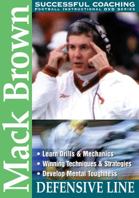 Mack Brown: Defensive Line DVD  -