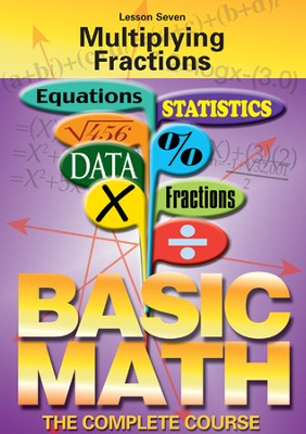 Basic Math Series: Multiplying Fractions DVD  -
