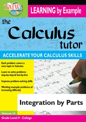 Calculus Tutor: Integration By Parts DVD  -