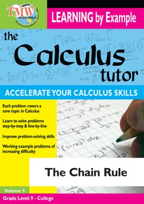 Calculus Tutor: Chain Rule DVD  -