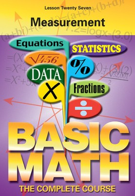Basic Math Series: Measurement DVD  -