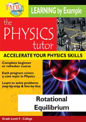 Physics Tutor: Rotational Equilibrium DVD  -