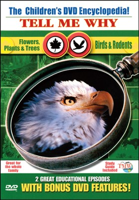 Tell Me Why: Flowers, Plants & Trees & Birds & Rodents DVD  -