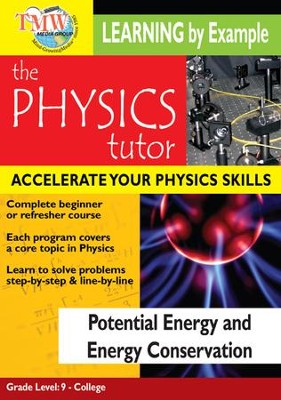 Physics Tutor: Potential Energy and Energy Conservation DVD  -