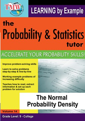 Normal Probability Density DVD  -