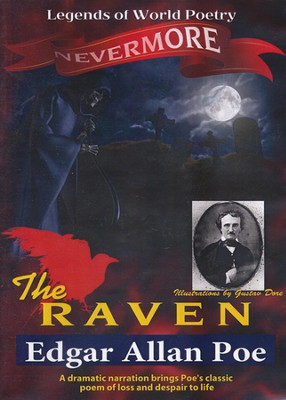 The Raven - Edgar Allan Poe DVD  -