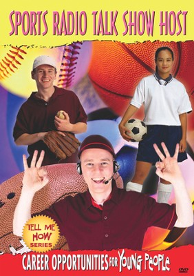Tell Me How Career Series: Sports Radio Talk Show Host DVD  -