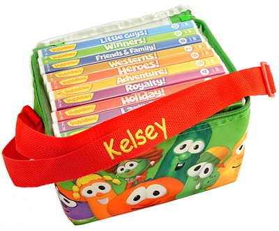 Personalized, VeggieTails DVD Library   -