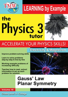 Gauss' Law Planar Symmetry DVD  -