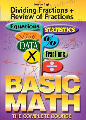 Basic Math Series: Dividing Fractions + Review of Fractions DVD  -