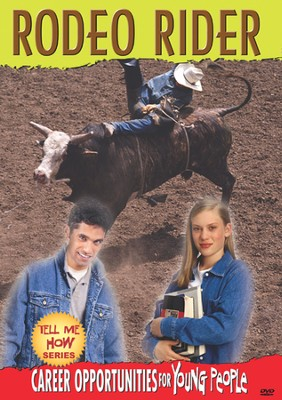 Tell Me How Career Series: Rodeo Rider DVD  -